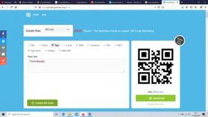 Aplikasi Pembuat Barcode