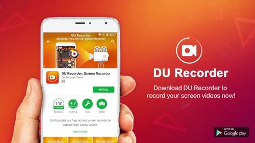 DU recorder Aplikasi Rekam Layar Hp