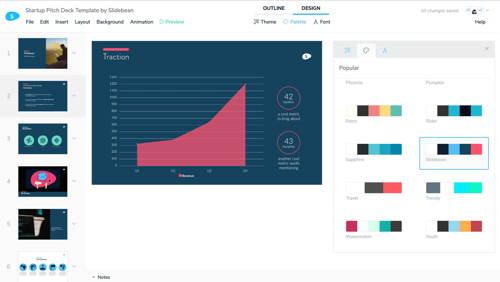Aplikasi Presentasi Gratis Slidebean