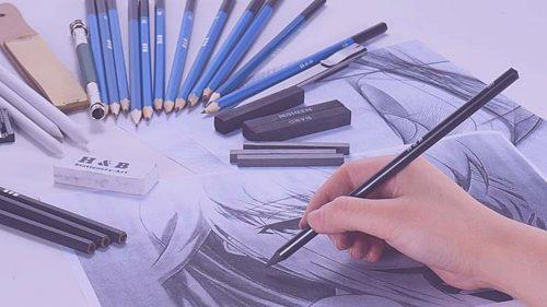 Alat dan Bahan Untuk Menggambar Ilustrasi
